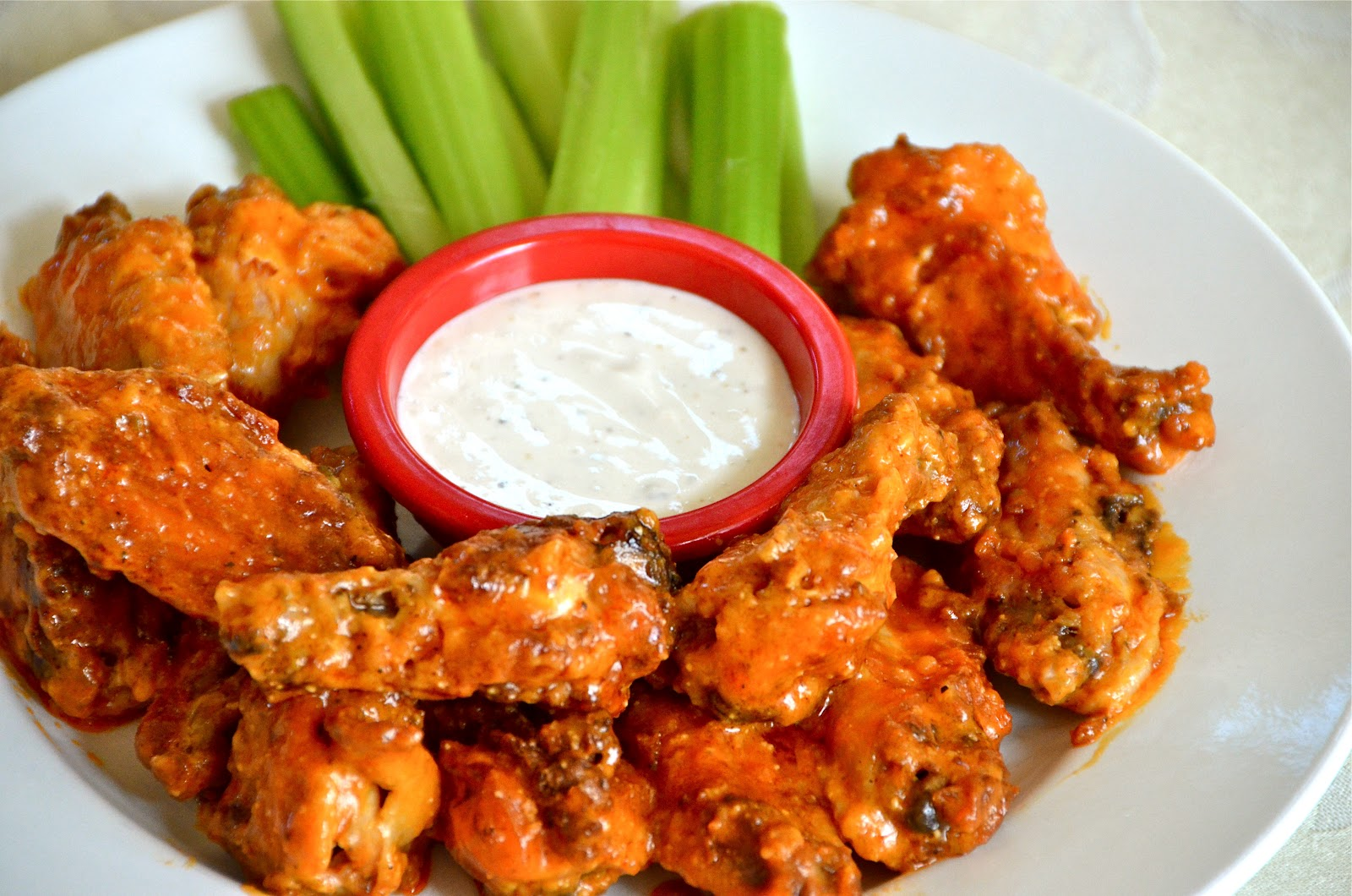 Buffalo Style Chicken Wings |